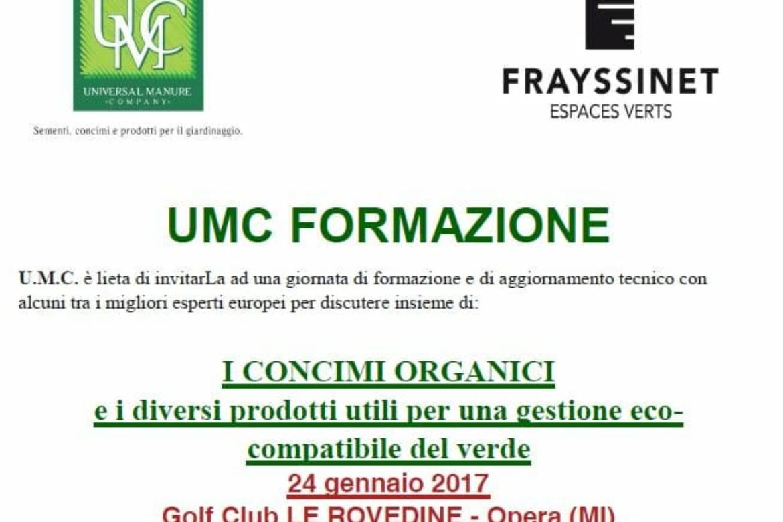 UMC formazione – approfondimenti per una gestione ecocompatibile del verde